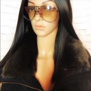 Accessories - 🌸PRICE DROP🌸Trendy frame pilot sunglasses